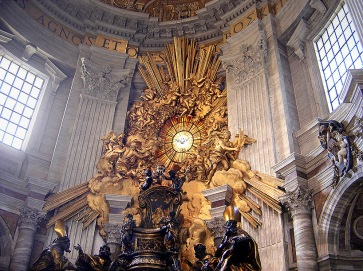 """The Chair of Peter,"" by Gian Lorenzo Bernini"