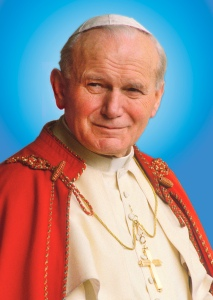St. John Paul II is frequently cited in the encyclical. (CNS photo/Grzegorz Galazka)