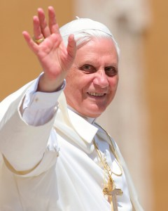 Pope Francis' position on the environment is consistent with Pope Emeritus Benedict's.