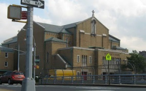 My new home for the next year: St. Benedict's in the Bronx.