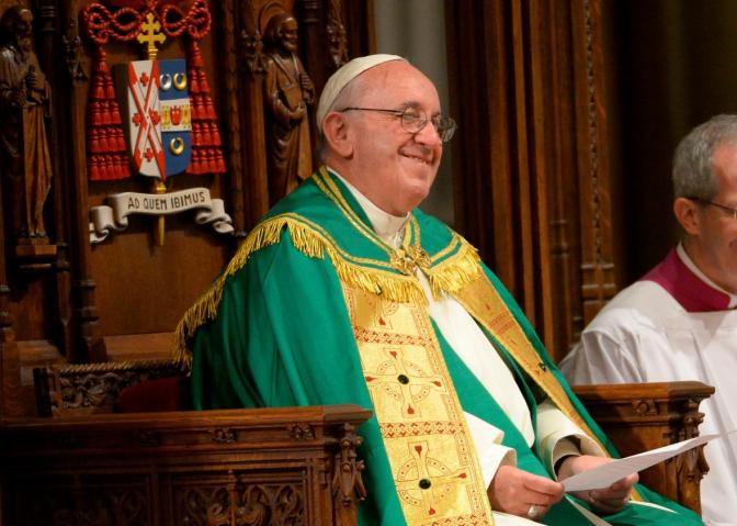 """God is in the City"": the Pope's Message in New York"