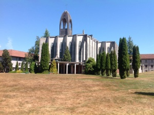 Westminster Abbey in Mission, British Columbia.