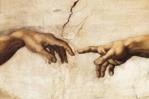 creation hands