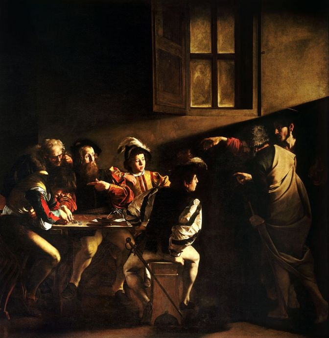 """The Calling of Saint Matthew"": When God Bursts In"