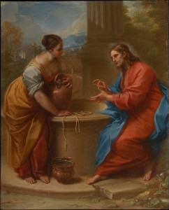 Benedetto Luti (Italian, Florence 1666–1724 Rome) Christ and the Woman of Samaria, 1715–20 Oil on copper; 15 × 12 1/8 in. (38.2 × 30.9 cm) The Metropolitan Museum of Art, New York, Purchase, Rogers Fund, by exchange, 2015 (2015.645) http://www.metmuseum.org/Collections/search-the-collections/702752