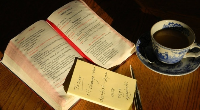 Finding Peace in the Liturgy of the Hours